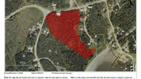 9.28 Acres Overlooking the Harbour! Route 790, Chance Harbour