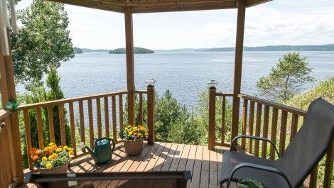 Never Leave the Backyard… Enjoy Your Waterfront! 71 Brigadoon Terr., Saint John
