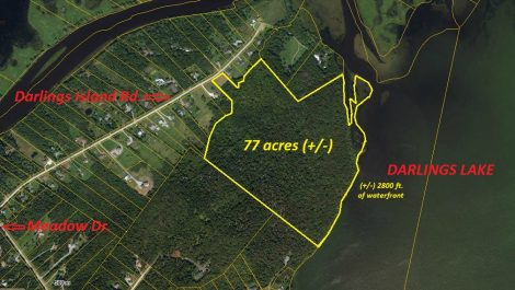 Waterfront Jewel 77 Acre Parcel! Darlings Island Rd., Darlings Island