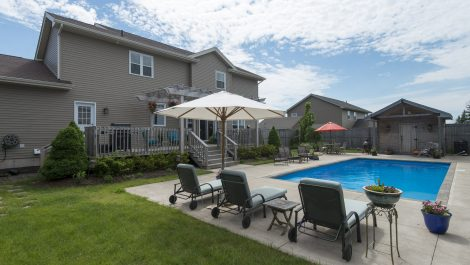 Backyard Retreat-Inground Salt Water Pool! 19 Grasmere Ave., Quispamsis