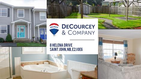 3 Bedrooms, Heat Pump with Backyard Oasis! 8 Helena Drive, Saint John