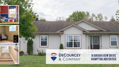 Open Concept, Heat Pump & Finished Basement! 18 Brookview Dr., Hampton