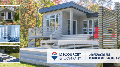 WATERFRONT on GRAND LAKE – Modern Design Meets Cottage Country! 21 Oakwood Ln., Cumberland Bay