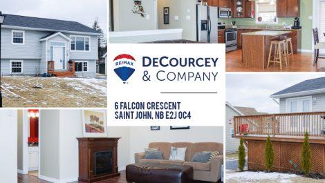 6 Falcon Cres., Saint John