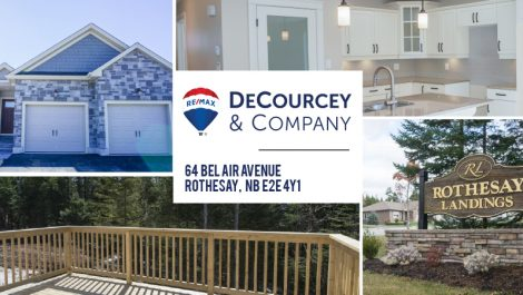 Condo-Like Lifestyle! So Much More for Less! 64 Bel Air Ave., Rothesay