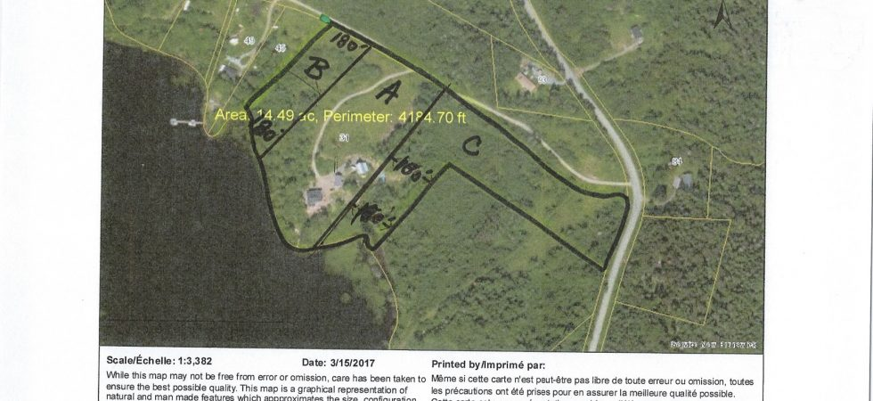 Aerial Map-31 Stillwater