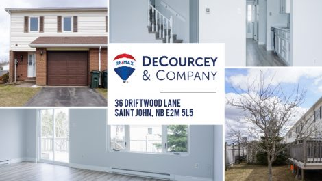 3 Simple Words… Just Move In! 36 Driftwood Ln., Saint John