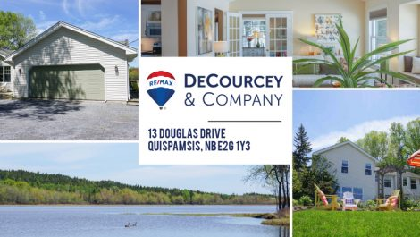 Waterfront 2.7 Acres! 13 Douglas Dr., Quispamsis