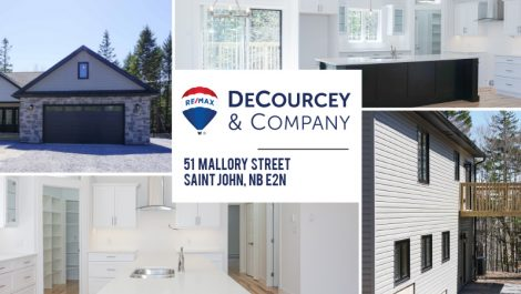 Absolutely Stunning NEW CONSTRUCTION! 51 Mallory St., Saint John