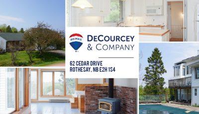 62 Cedar Drive, Rothesay 3D Model