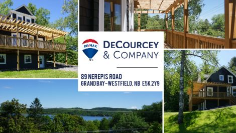 Fully Renovated with Views of the St. John River! 89 Nerepis Rd., Grand Bay-Westfield