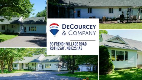 A Rare Find – Move In Ready! 93 French Village Rd., Rothesay