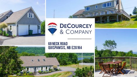 Commanding Hillside & Riverviews! 69 Neck Rd., Quispamsis