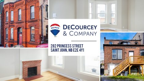 3 Unit Brick Income Property! 282 Princess St., Saint John