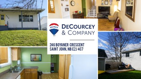 Nicely Renovated, Fenced In Backyard! 246 Boyaner Cres., Saint John