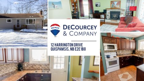 3 Bedroom Affordability in Quispamsis! 12 Harrington Dr., Quispamsis