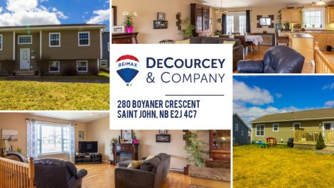 Quality Built in Great Location EAST! 280 Boyaner Cres., Saint John