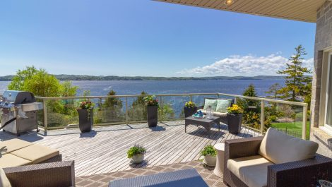Waterfront INSIDE – OUTSIDE Living; Timeless Style! 43 Anchorage Ave., Saint John