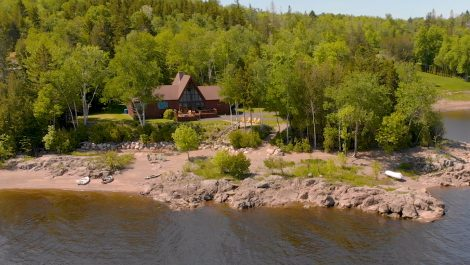 Falling for An A-Frame on 500 ft of Beachfront! 115 Shannon Rd., Grand Bay-Westfield